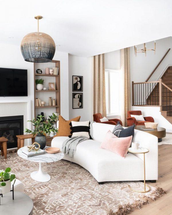 インテリア 丸みのある家具5