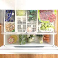 ゴミが溜まりにくく掃除が楽になる♪《野菜室》の収納アイデアを紹介!