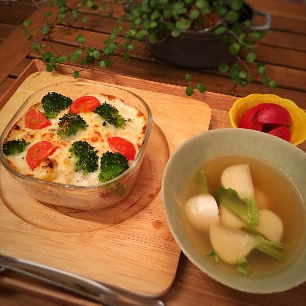 温め直すだけの常備菜レシピ!グラタン