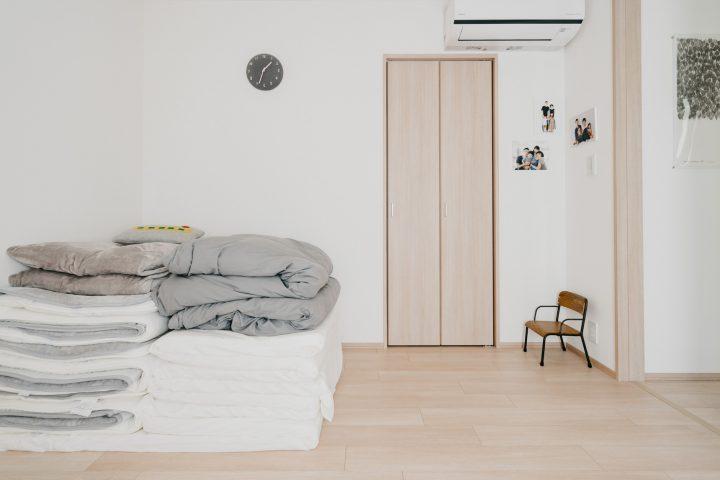 ベッドではなく布団という選択肢も