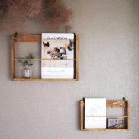 【連載】100均DIY ♪《セリア》の木材で簡単かわいい壁掛けラックを作ろう!