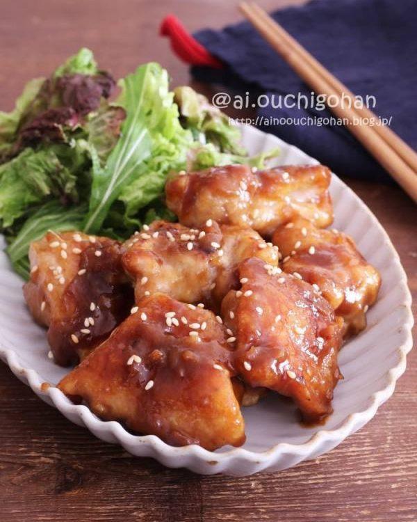 鶏肉の常備菜レシピ特集☆和風4