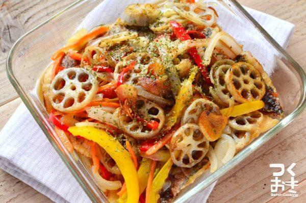 パプリカの美味しい常備菜レシピ☆お弁当13