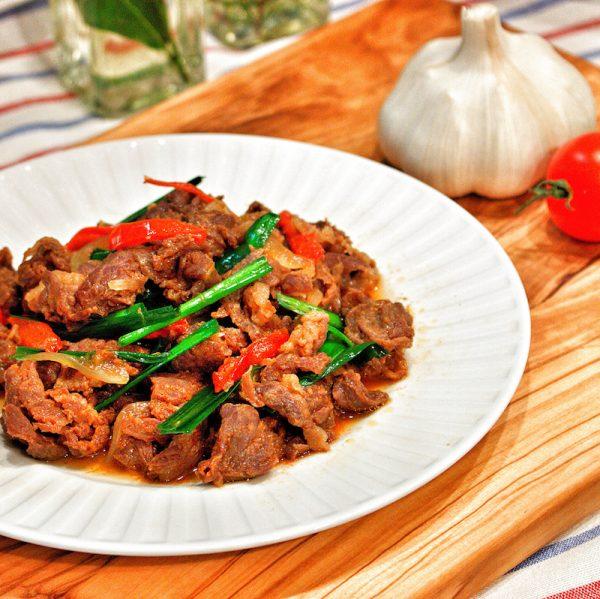 牛肉の簡単常備菜レシピ《炒め物・焼き物》2
