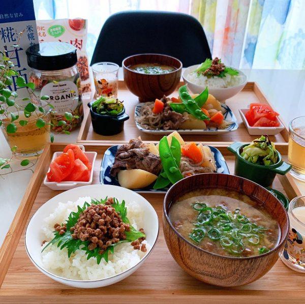 野菜たくさん朝食レシピ《和食》2