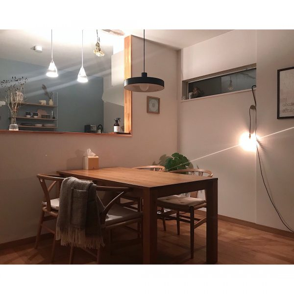 キッチン&ダイニングルームの照明アイディア5
