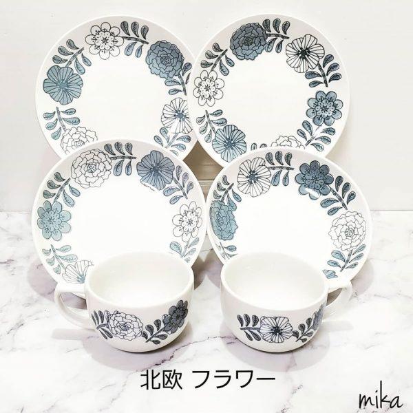 北欧風陶器シリーズ