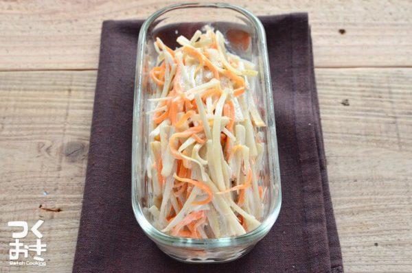 ごぼうの美味しい常備菜12