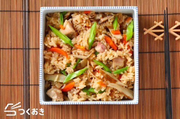 炊き込みご飯の簡単アレンジレシピ☆お弁当7