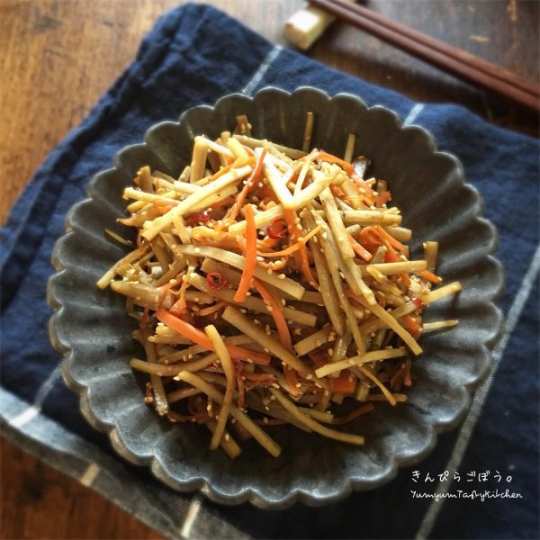 お弁当おすすめ野菜嫌い克服レシピ!きんぴら