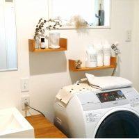 工夫次第で狭い空間を美しく♪洗濯用の洗剤をおしゃれに収納するコツ