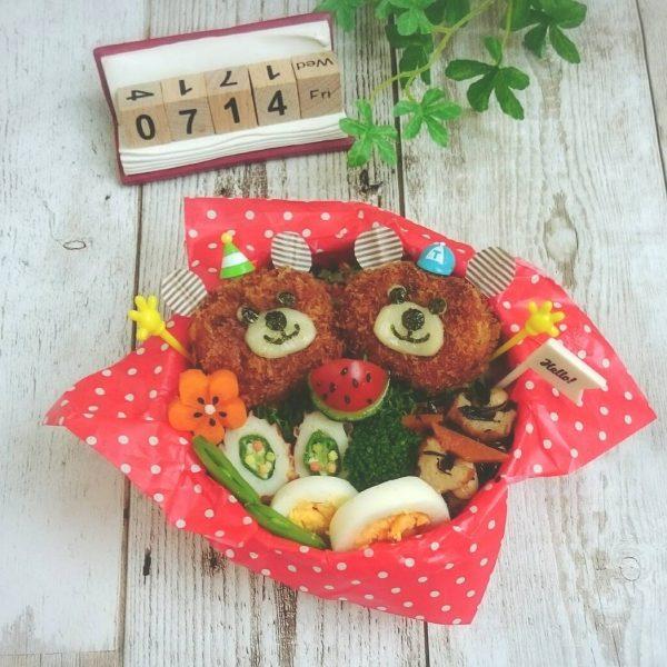 野菜嫌いの子供も嬉しいレシピ!くまコロッケ