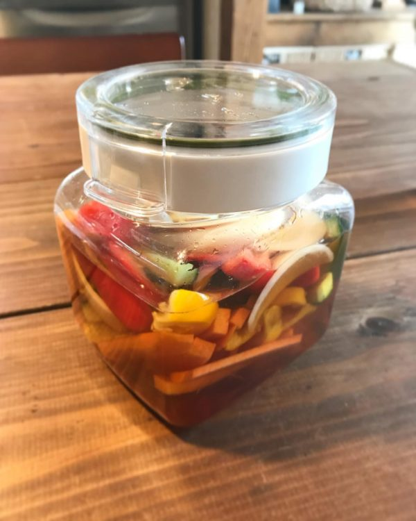 超保存食!きゅうりと野菜の酢漬け