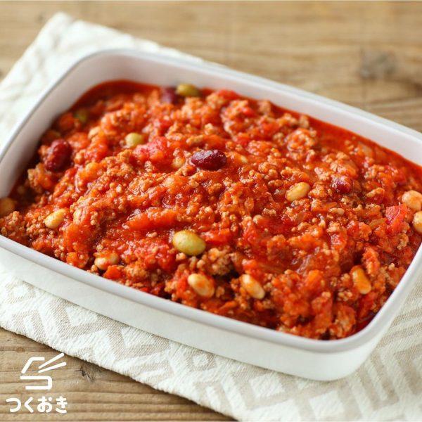 ピリ辛の人気常備菜レシピ!チリコンカン
