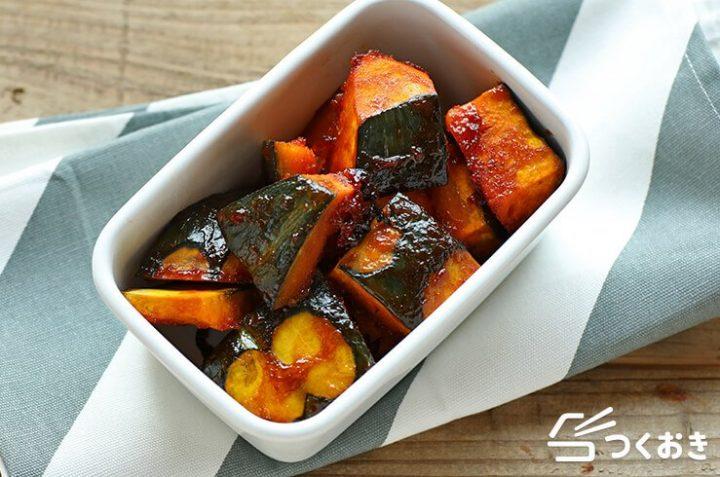 簡単な常備菜!かぼちゃのバーベキューグリル