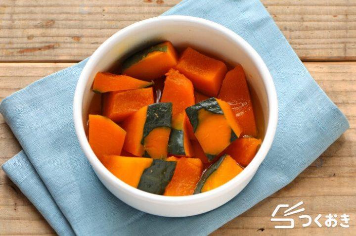 常備菜に人気のおかず!かぼちゃのだし煮