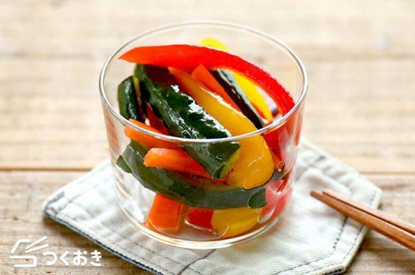 パプリカの美味しい常備菜レシピ☆副菜3