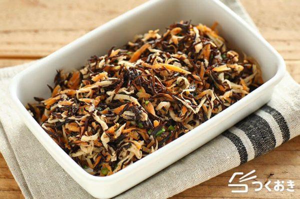 人気レシピ!切り干し大根とひじきのマヨサラダ