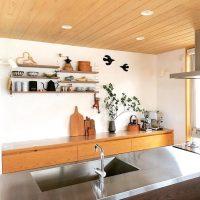 キッチンのインテリアテイストは?背面インテリアで作り出す素敵な作業空間