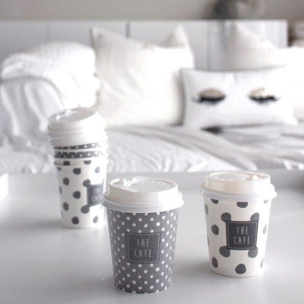 おうちカフェに便利な「蓋つき耐熱紙コップ」