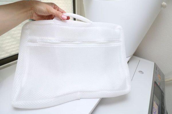 持ち手つき洗濯ネット