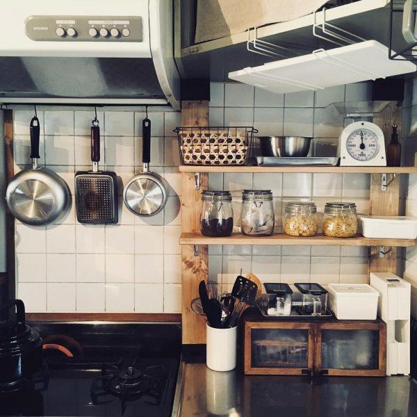 ラブリコを使った賃貸キッチンDIY2