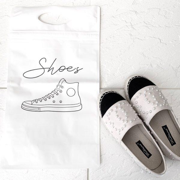 お気に入りの靴はおしゃれなシューズバッグに収納