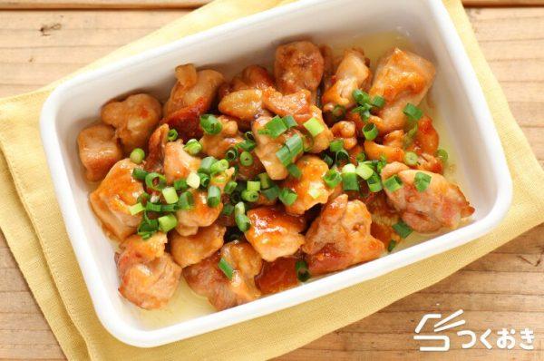 鶏肉の常備菜レシピ特集☆和風6