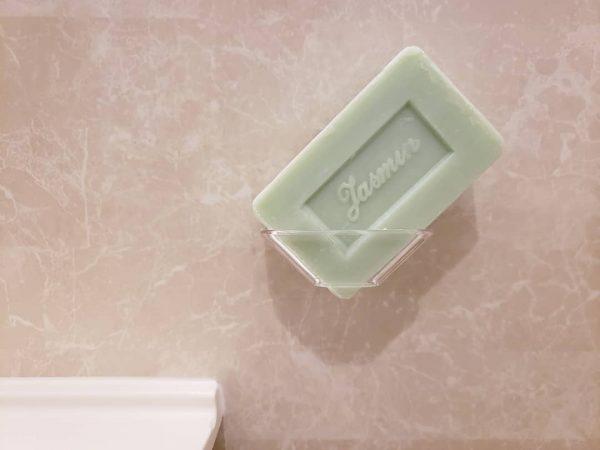 水切りができる石鹸ホルダー