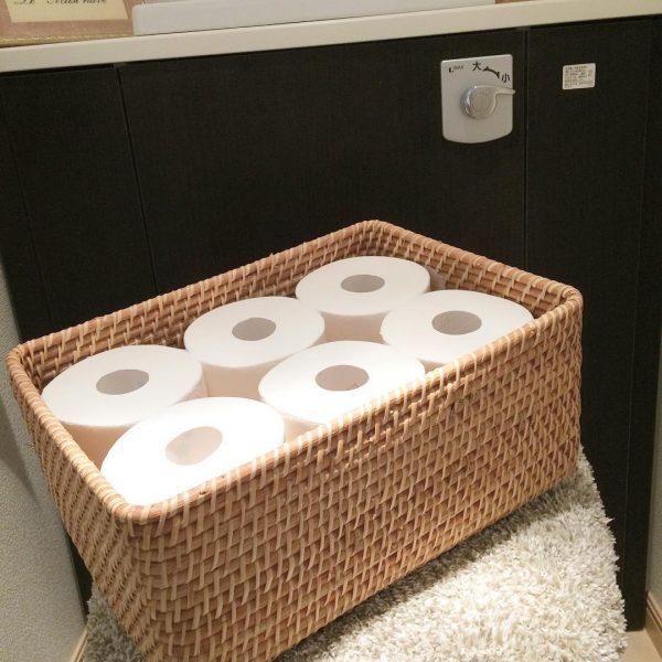 トイレットペーパーの見せる収納2