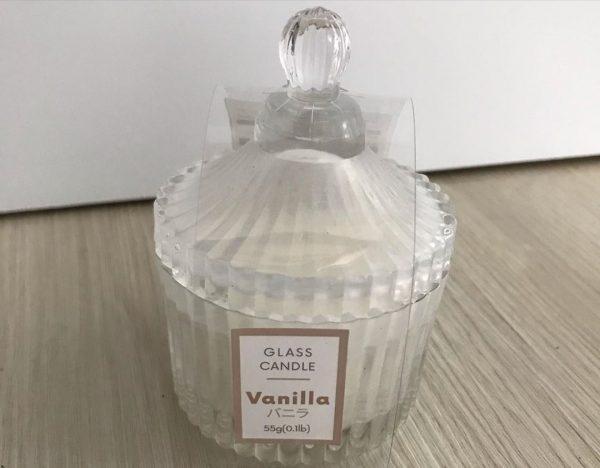 ガラスキャンドル
