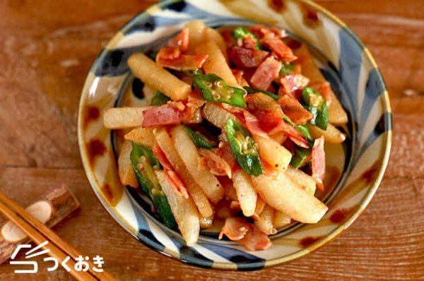 オクラの常備菜レシピ特集☆副菜6