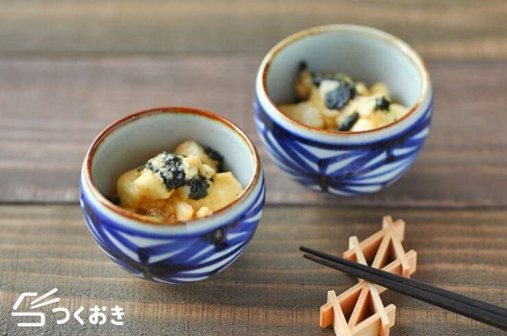 和食料理でおもてなし!長芋のわさび醤油和え
