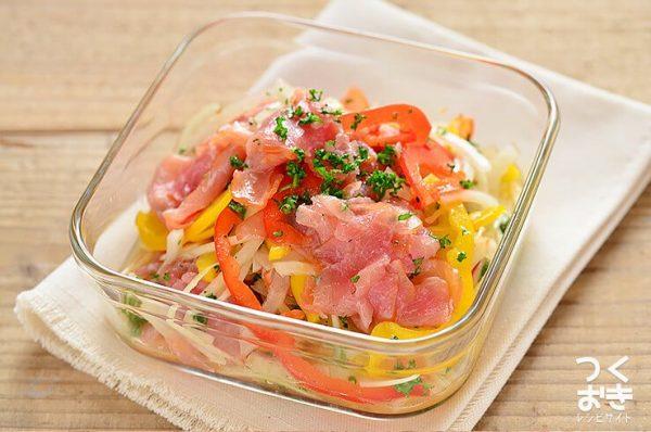 パプリカの美味しい常備菜レシピ☆副菜10