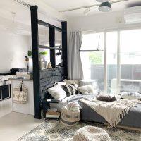 DIYでお家の雰囲気が変わる♡おしゃれな《間仕切り壁》を取り入れたインテリア