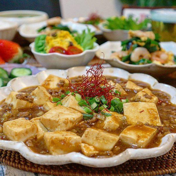 家庭料理でも簡単定番メニュー!麻婆豆腐