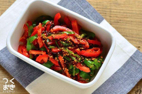 パプリカの美味しい常備菜レシピ☆副菜12