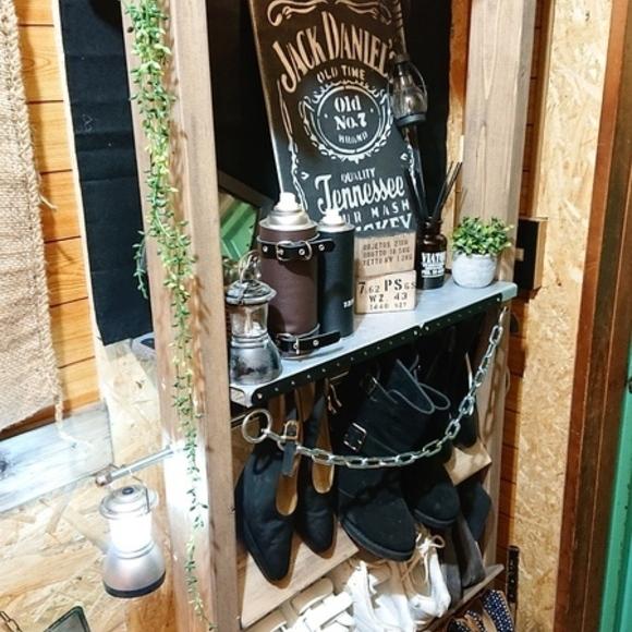 賃貸の靴箱DIY3