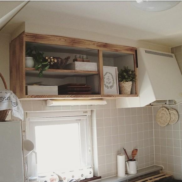 キッチンの棚DIY《食器収納》