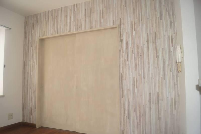 壁紙で和室のリフォームをした内装