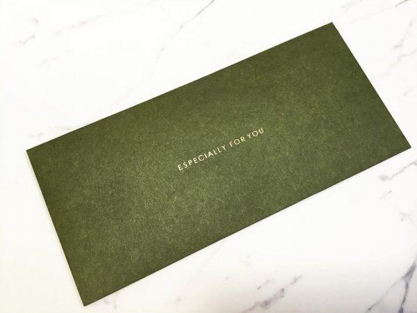 チケット封筒【セリア】