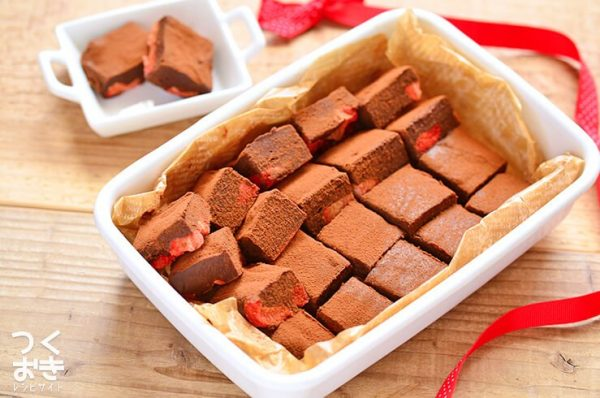 チョコのスイーツ☆人気レシピ《冷たいスイーツ》3