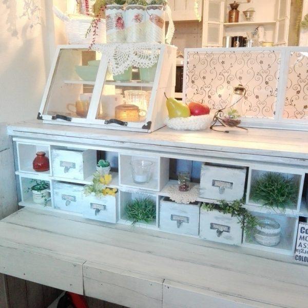 キッチンの棚DIY《ディスプレイ》2