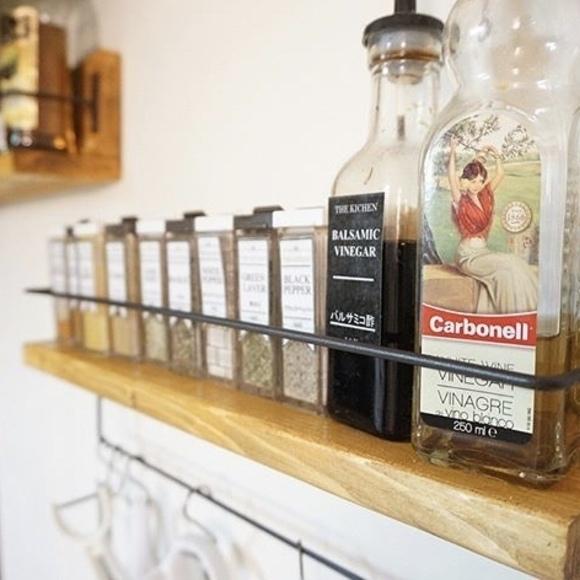 キッチンの棚DIY《調味料収納》2