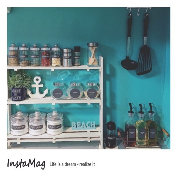 キッチンの棚DIY《調味料収納》