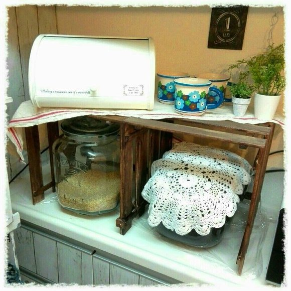 キッチンの棚DIY《家電収納》4