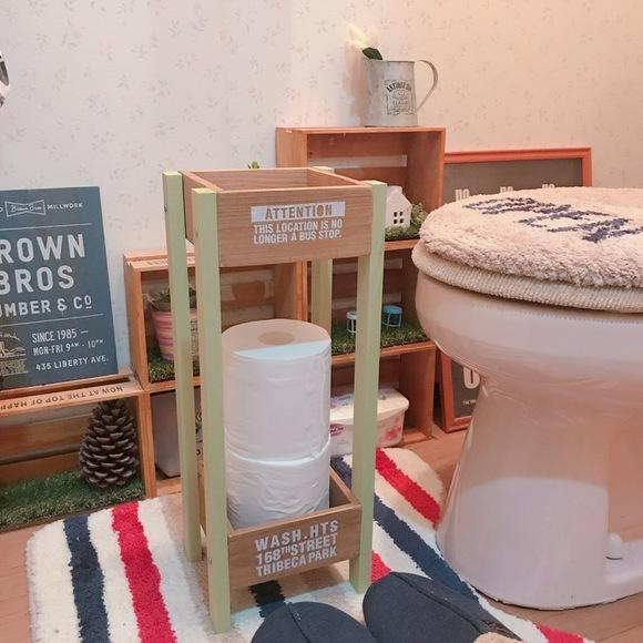 トイレ DIY 実例20
