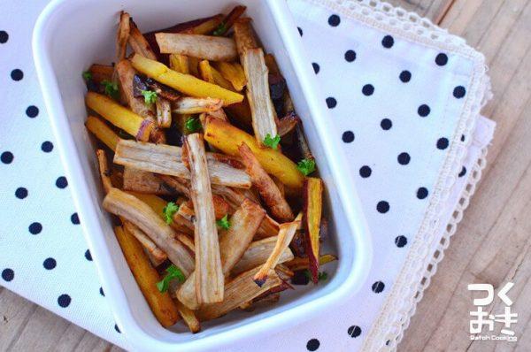 ごぼうの美味しい常備菜10