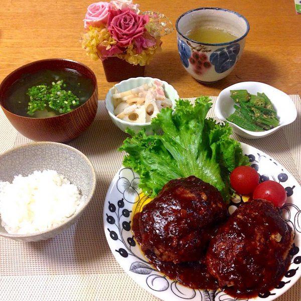 洋風家庭料理の定番メニュー!ハンバーグ