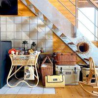 こんな使い方も素敵♪おしゃれな《階段下スペース》の活用アイデア